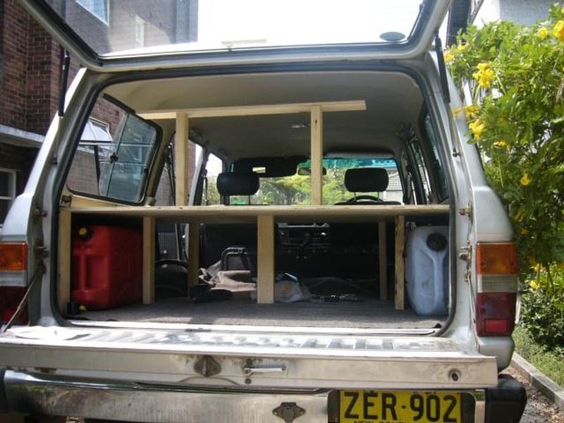umbau zum camper tipps f r den 4wd in australien. Black Bedroom Furniture Sets. Home Design Ideas