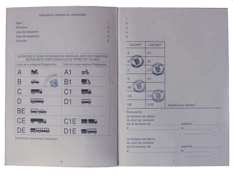 Internationaler Führerschein. Deutsche Autofahrer ... 39bbe2ea410
