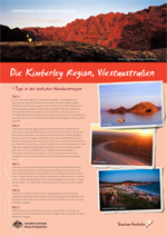 Kimberley-Reiseplan